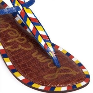 Sam Edelman Shoes - Sam Edelman Gigi Tribal Chevron Thong Sandals